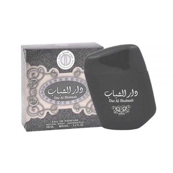 (PLU00033) Ard al Zaafaran, Set Dar Al Shabaab - Apă de Parfum 100ml + Deodorant Spray 50ml
