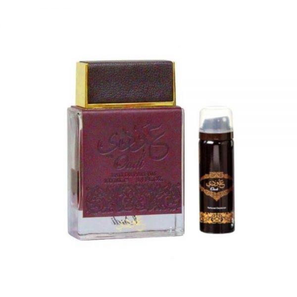 (PLU00380) Ard al Zaafaran, Set Oudi - Apă de Parfum 100ml + Deodorant Spray 50ml