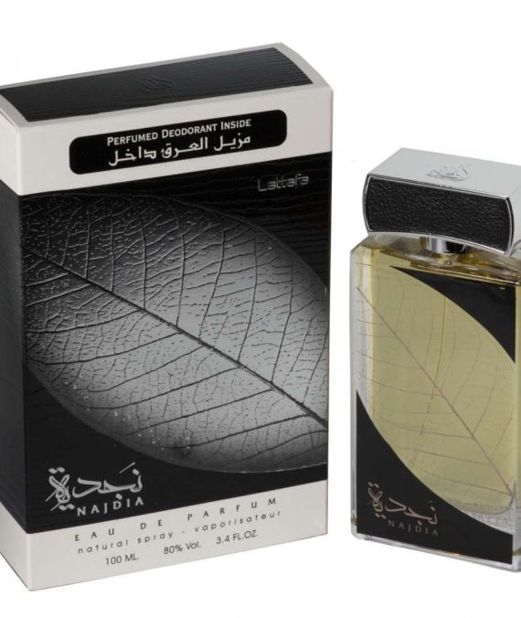 Lattafa, Set Najdia - Eau De Parfum 100 ml + Perfumed Deodorant