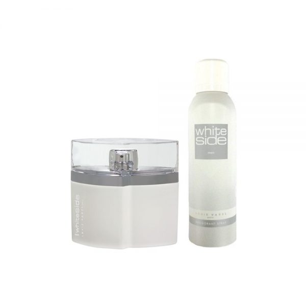 (PLU00561) Louis Varel, White Side Men Cu Deodorant