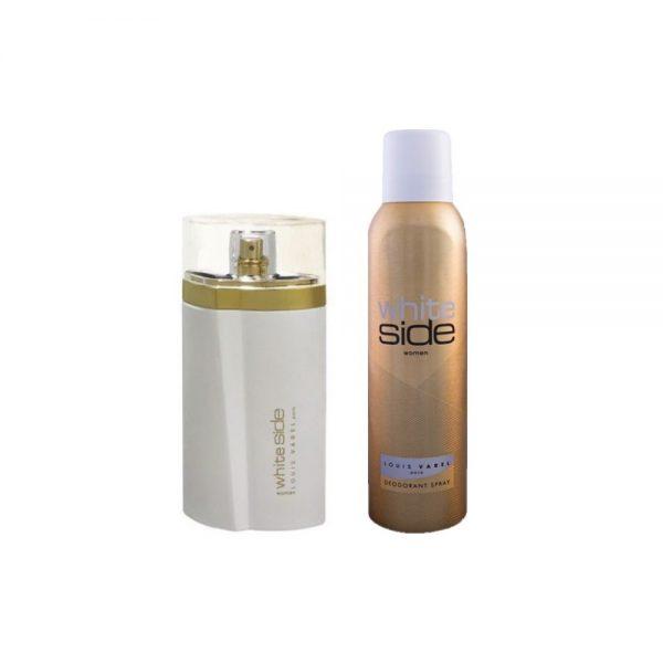 (PLU00560) Louis Varel, White Side Women Cu Deodorant