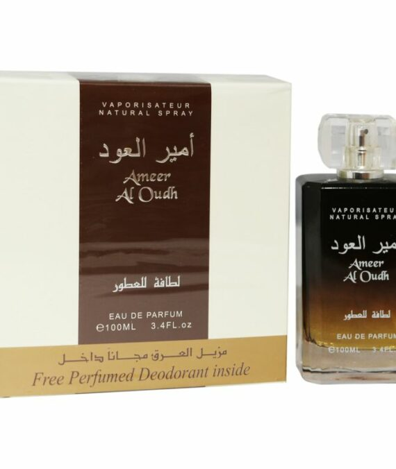 (PLU00294) Lattafa, Ameer Al OUDH - Apă de Parfum 100ml + Deodorant Spray 50ml