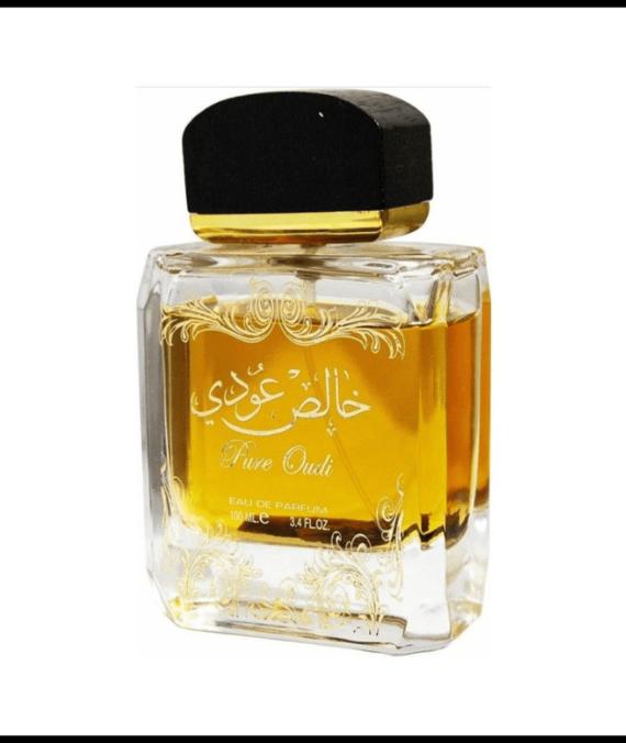 (PLU00633) Lattafa, Set Pure Oudi - Apă de Parfum 100ml + Deodorant Spray 50ml