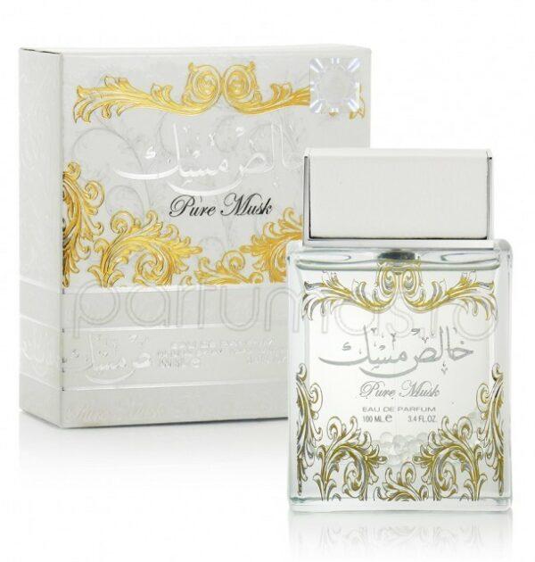 (PLU00170) Lattafa, Set Pure Musk - Apă de Parfum 100ml + Apă de Parfum 20ml